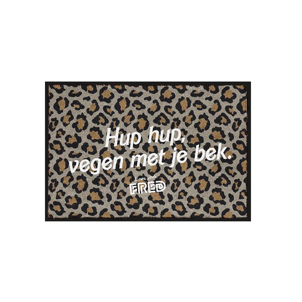 Hup Hup Sweater Black – Leer van Fred